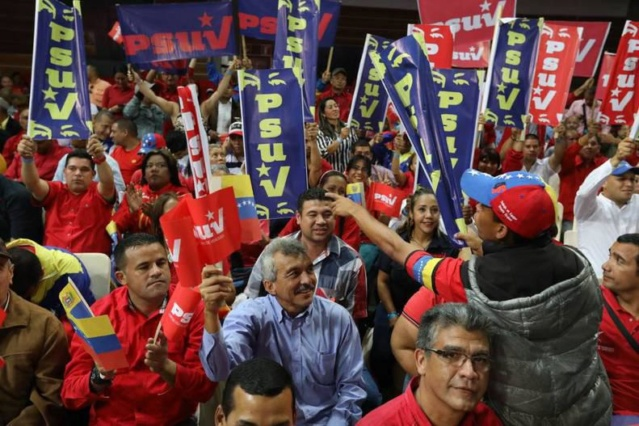 PSUV reafirmará en su IV Congreso compromiso con Foro de Sao Paulo Whatsa10
