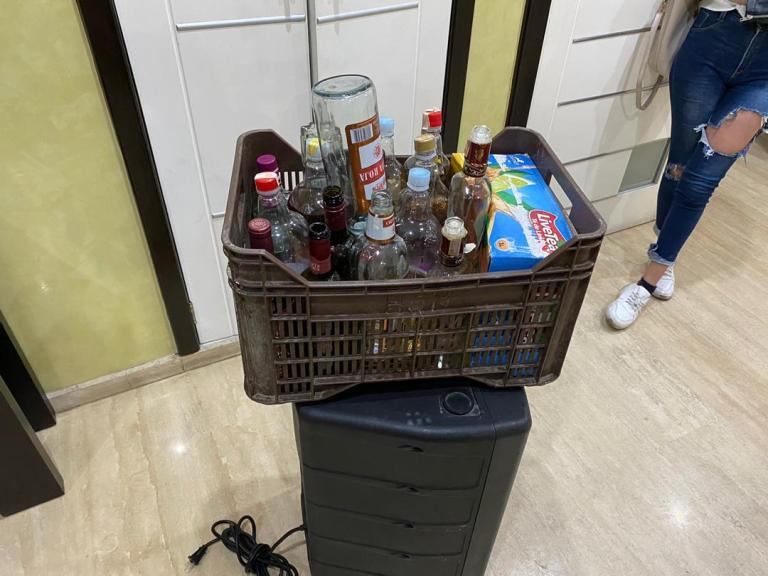 Detienen a 22 jóvenes y a 'Luigi' por andar rumbeando y sin medidas de bioseguridad en Altamira Whatsa55