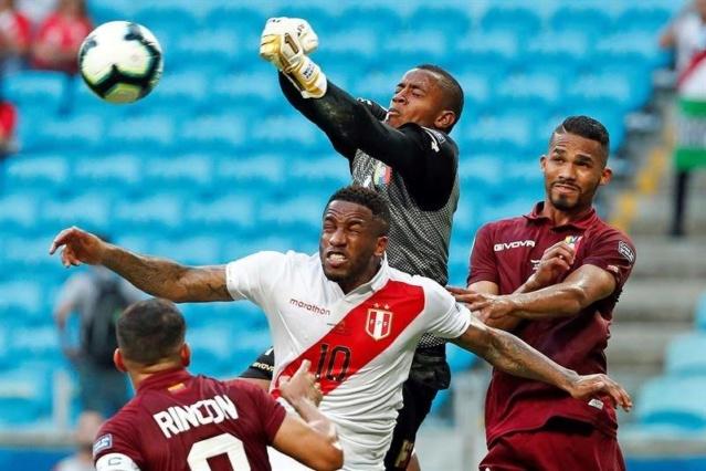 Venezuela empató 0-0 frente a Perú