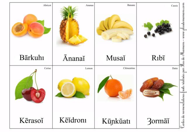 Sivazien - Présentation, avancée et traductions - Page 2 Fruits15