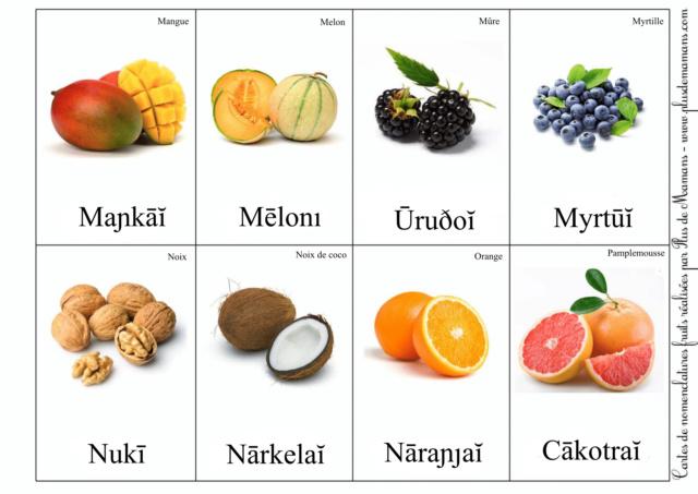 Sivazien - Présentation, avancée et traductions - Page 2 Fruits16
