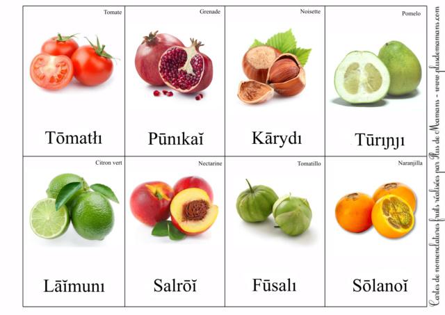 Sivazien - Présentation, avancée et traductions - Page 2 Fruits19