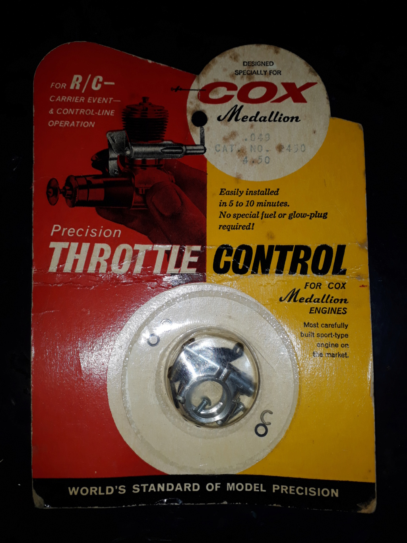 Cox Medallion .049 r/c 1968 20181111