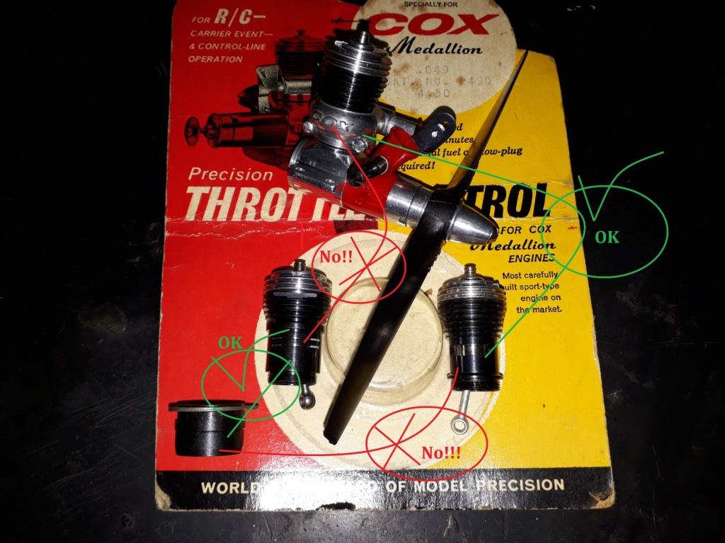 Cox Medallion .049 r/c 1968 20181116