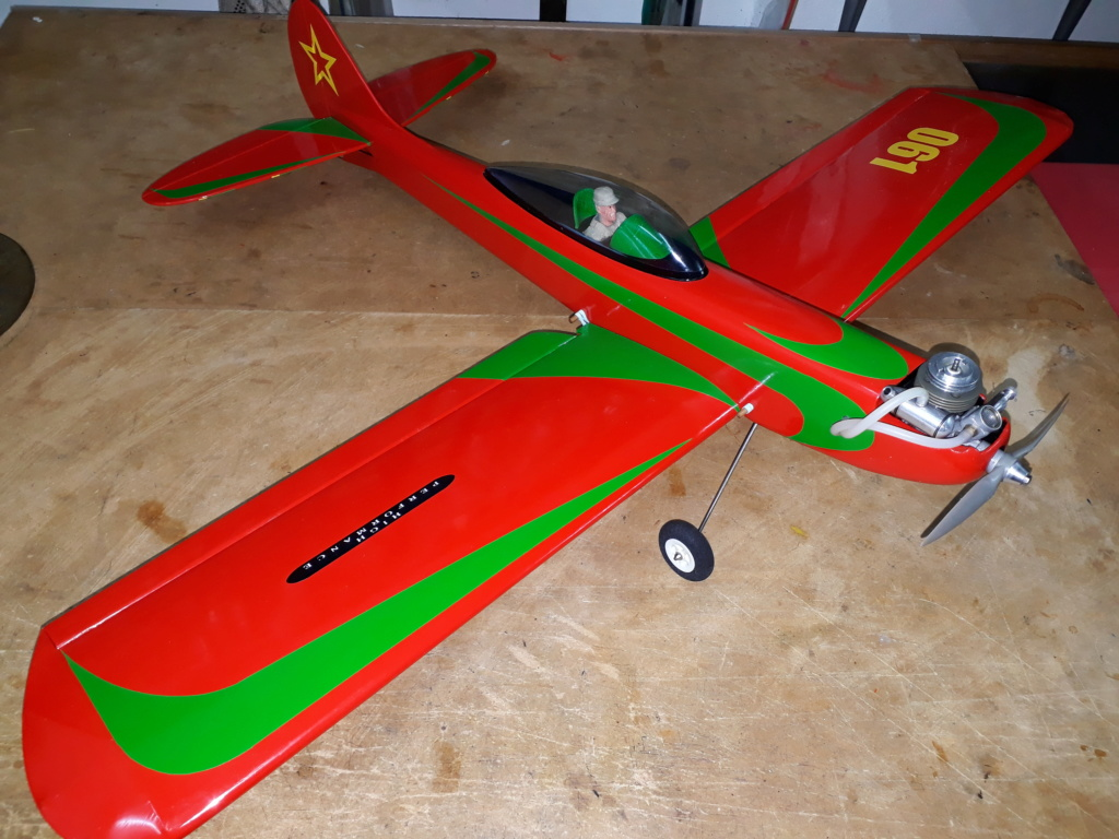 Finished: Model Stylo and Norvel BIG MIG .061 R/C  - Page 3 20191012