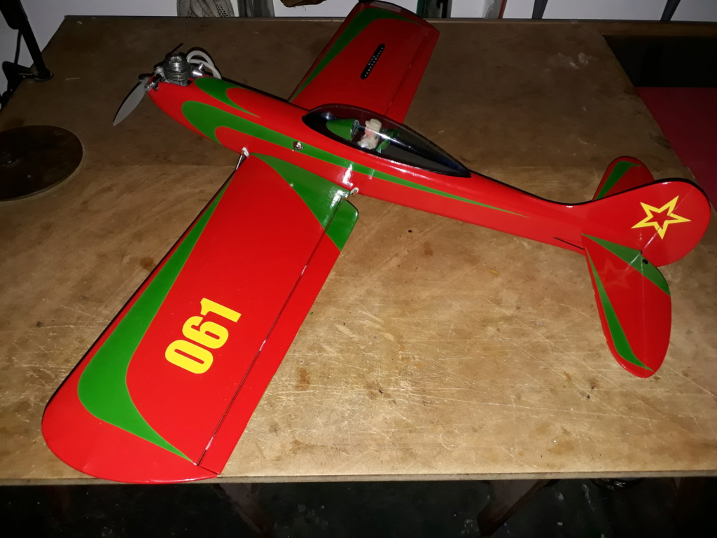Finished: Model Stylo and Norvel BIG MIG .061 R/C  - Page 3 20191013