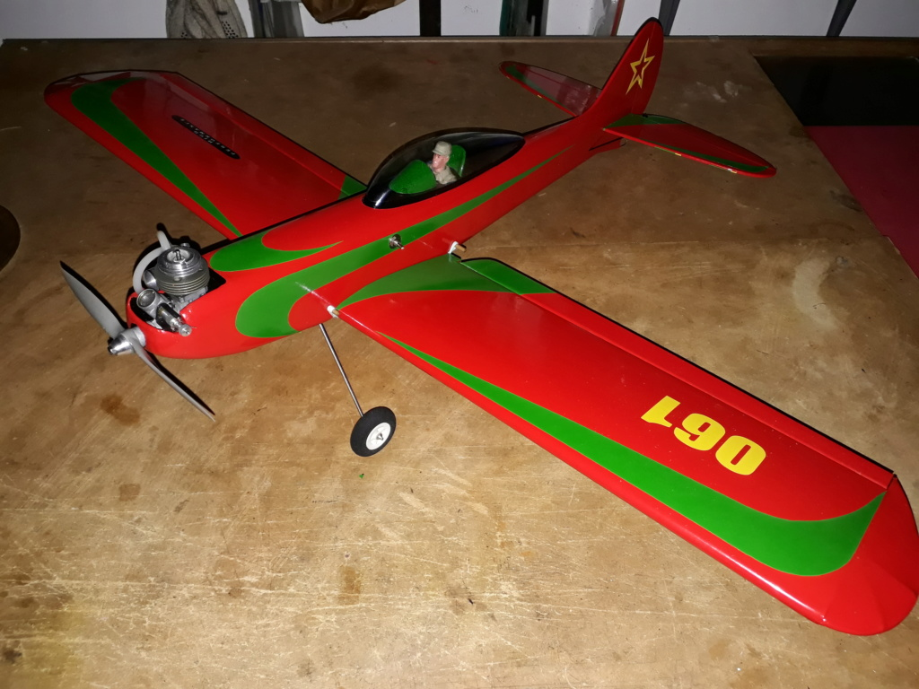 Finished: Model Stylo and Norvel BIG MIG .061 R/C  - Page 3 20191014