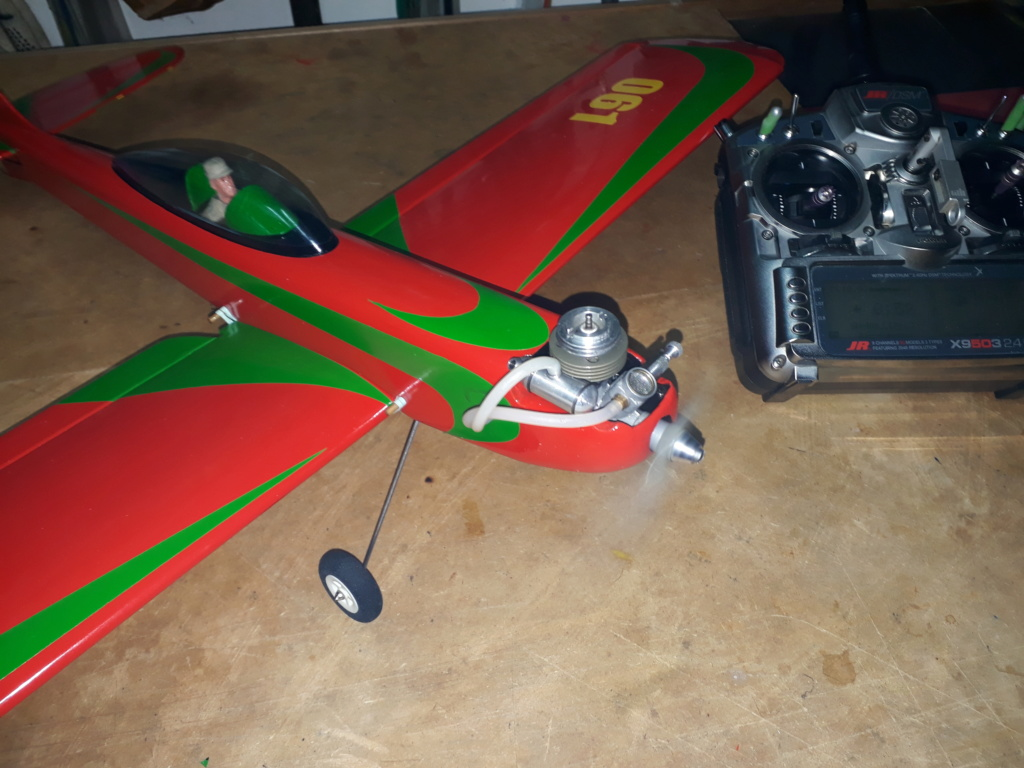 Finished: Model Stylo and Norvel BIG MIG .061 R/C  - Page 3 20191022
