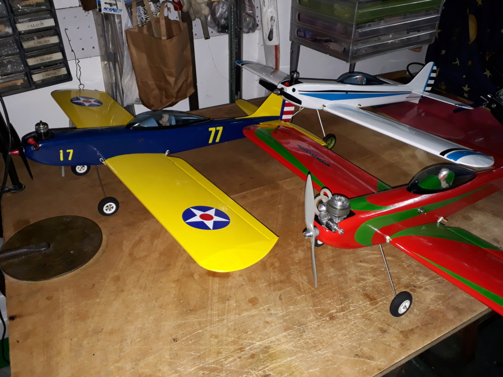 Finished: Model Stylo and Norvel BIG MIG .061 R/C  - Page 3 20191023
