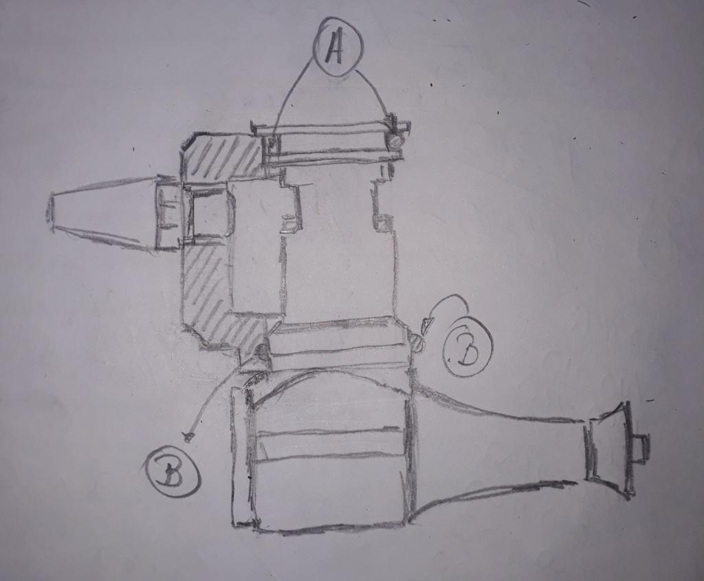 Cox Sportsman .15 R / C and Homemade Muffler  Dibujo10