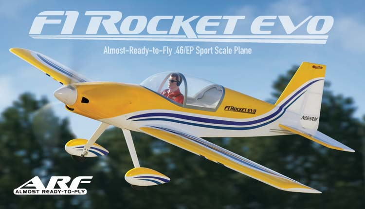 F1-Rocket EVO by Great Planes. Gpma1010