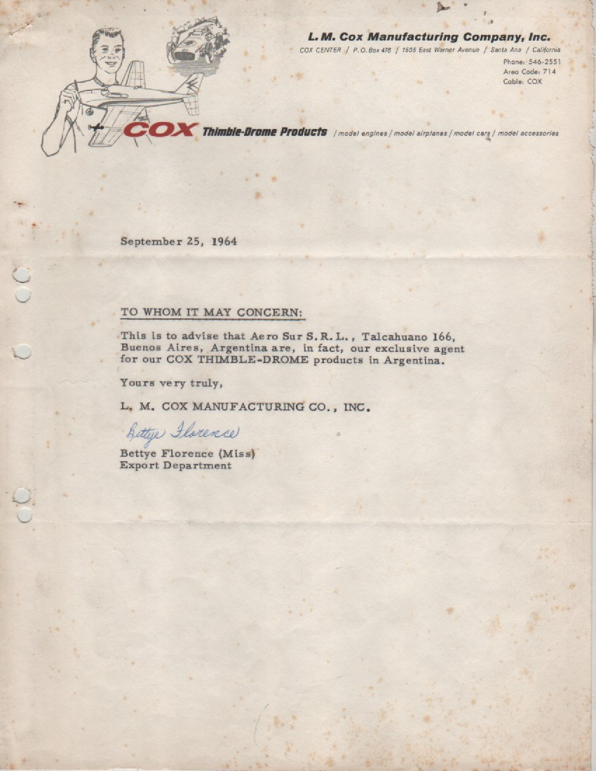 History of Cox in Argentina. Img-2033