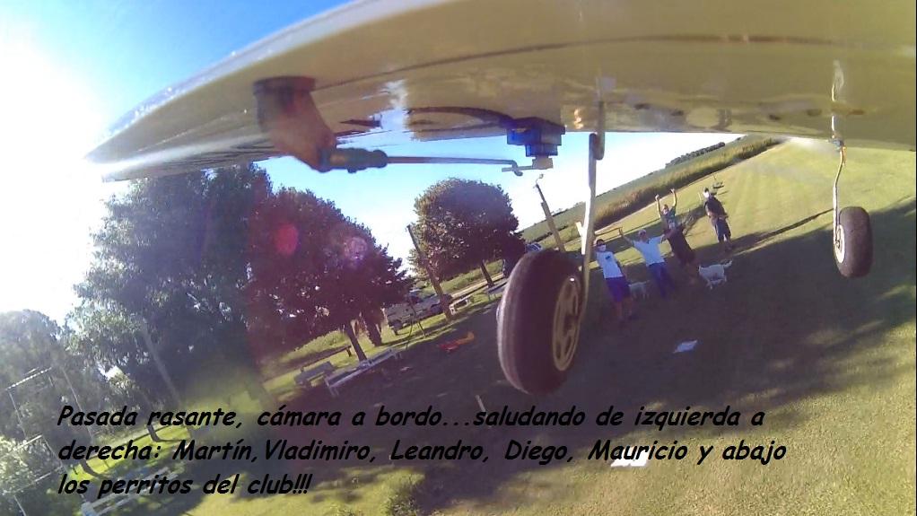 Air tour of the club with Aero Subaru and O.S. .20 of 4T Rasant10