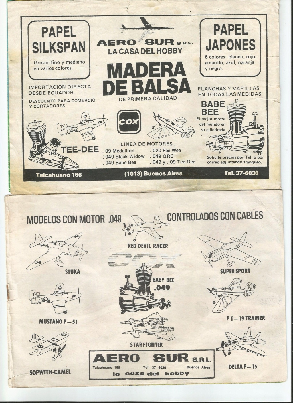 History of Cox in Argentina. Scan0010