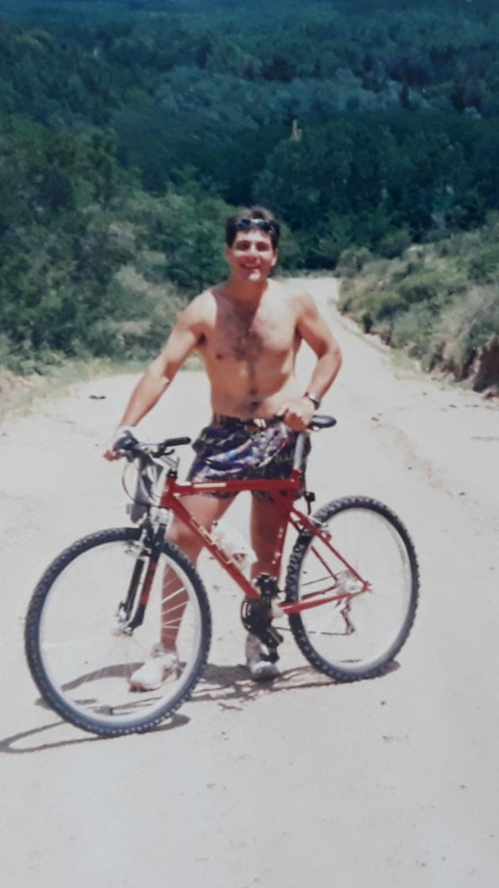 Then getting back on the bike...! Screen20
