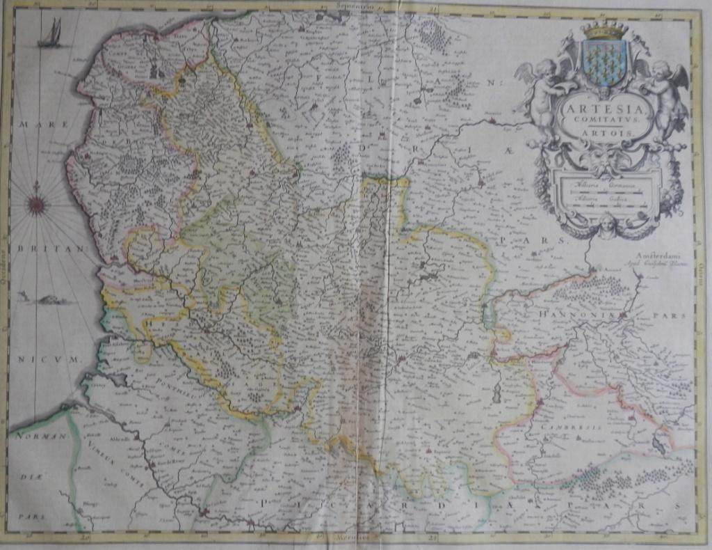 Le pays Reconquis des hauts de France ~1681 + Carte des Flandres Flandr10
