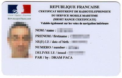 VHF et règlementation (française) Crr10
