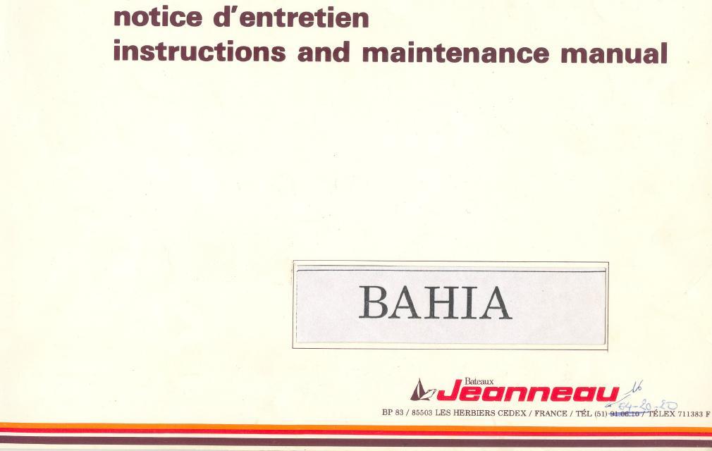 Document Jeanneau: Carnet d'entretien Entr_p10
