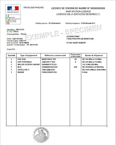 VHF et règlementation (française) Licenc10