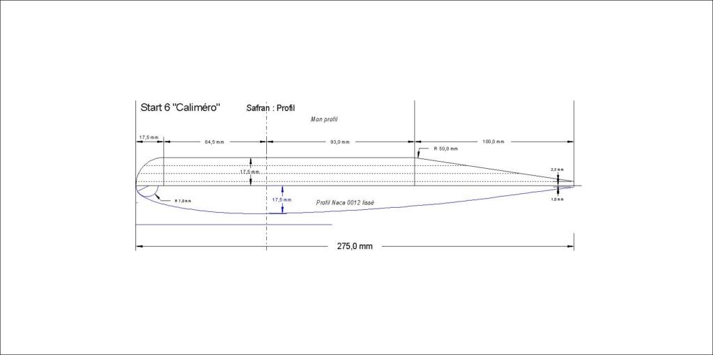 Plan du safran Profil10