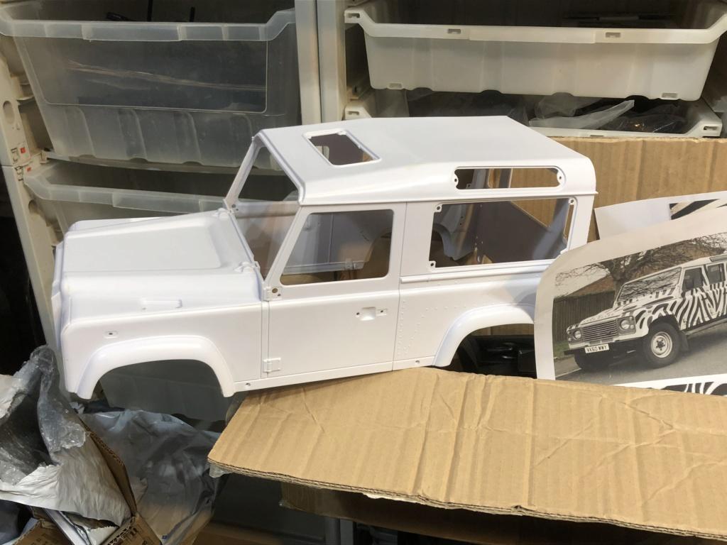 Transformation carrosserie Land Rover D90 en Pickup : Pièce 3D partie arrière Img_0610
