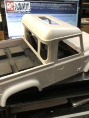 Transformation carrosserie Land Rover D90 en Pickup : Pièce 3D partie arrière Img_0710