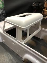 Transformation carrosserie Land Rover D90 en Pickup : Pièce 3D partie arrière Img_0718