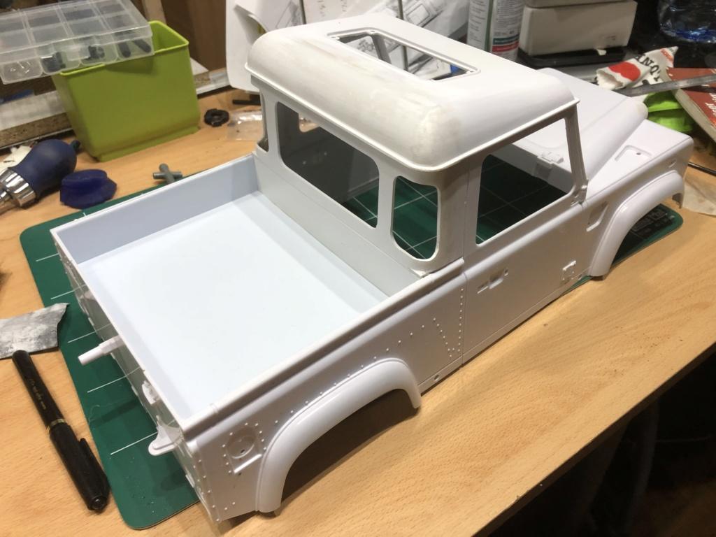 Transformation carrosserie Land Rover D90 en Pickup : Pièce 3D partie arrière Img_1510