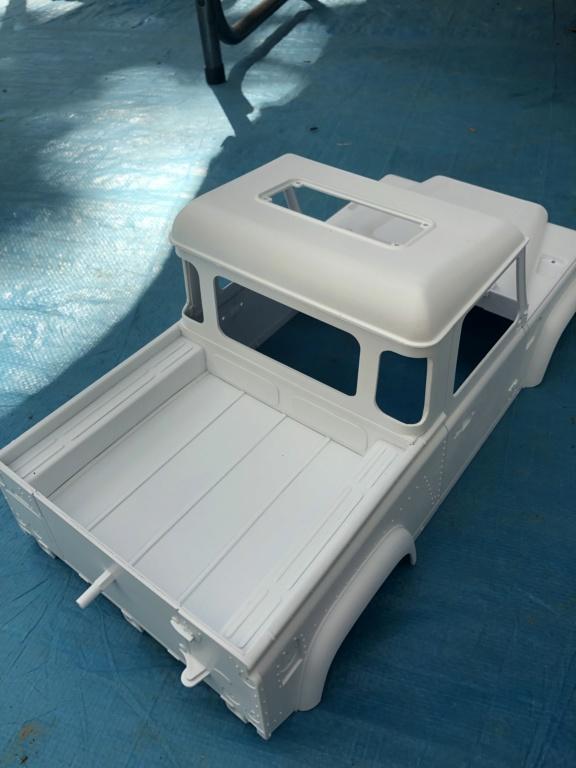 Transformation carrosserie Land Rover D90 en Pickup : Pièce 3D partie arrière Img_1514