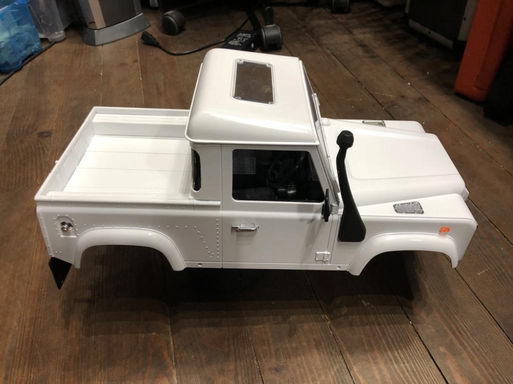 Transformation carrosserie Land Rover D90 en Pickup : Pièce 3D partie arrière - Page 2 Img_1611