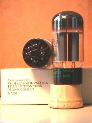 5v4GA Rectifier Tube 5ar4-r10