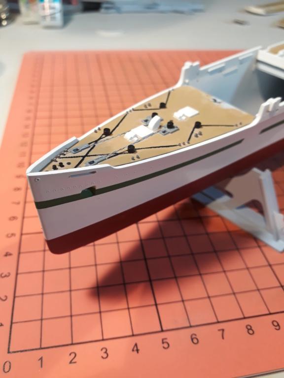 RMS Mauretania 1/600 Airfix 20191112