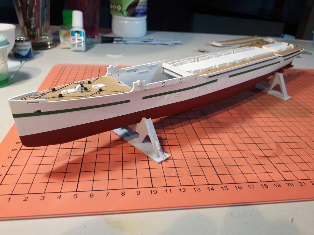 RMS Mauretania 1/600 Airfix 20191113