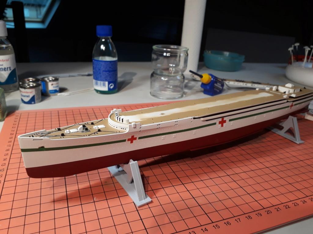 RMS Mauretania 1/600 Airfix 20191210