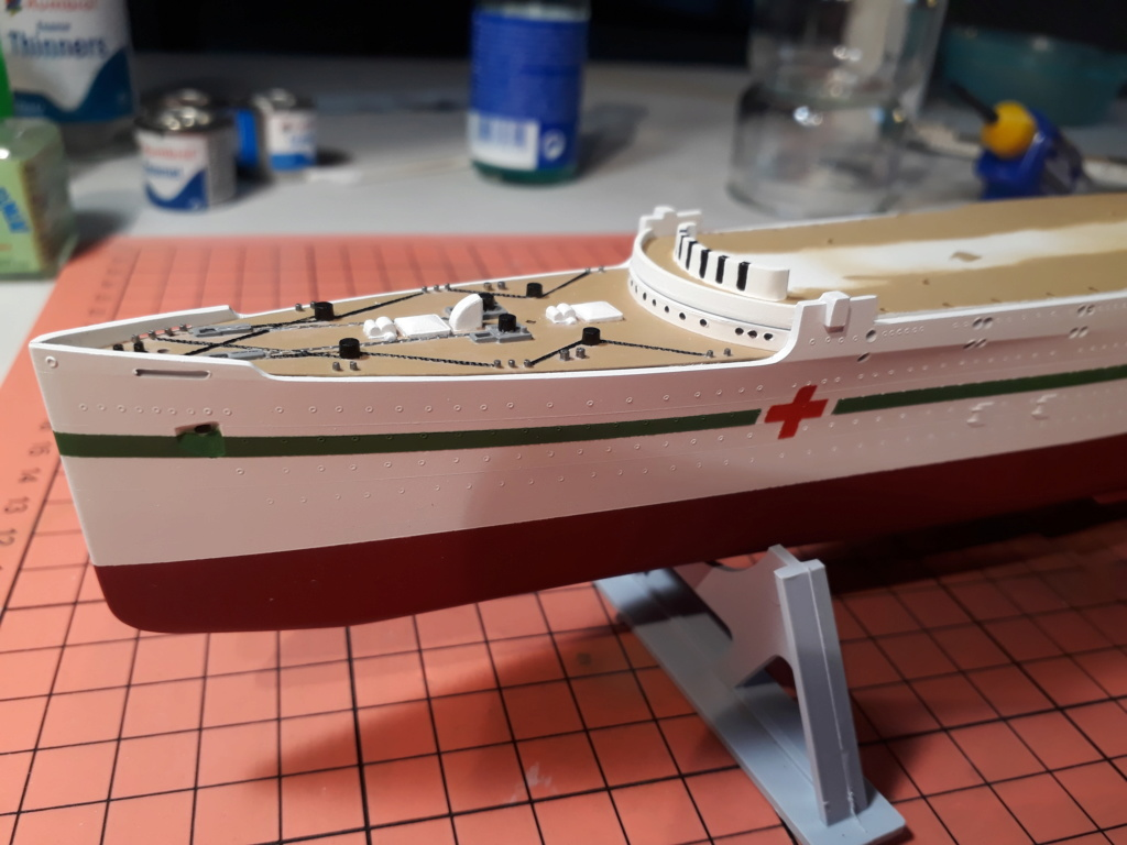 RMS Mauretania 1/600 Airfix 20191211