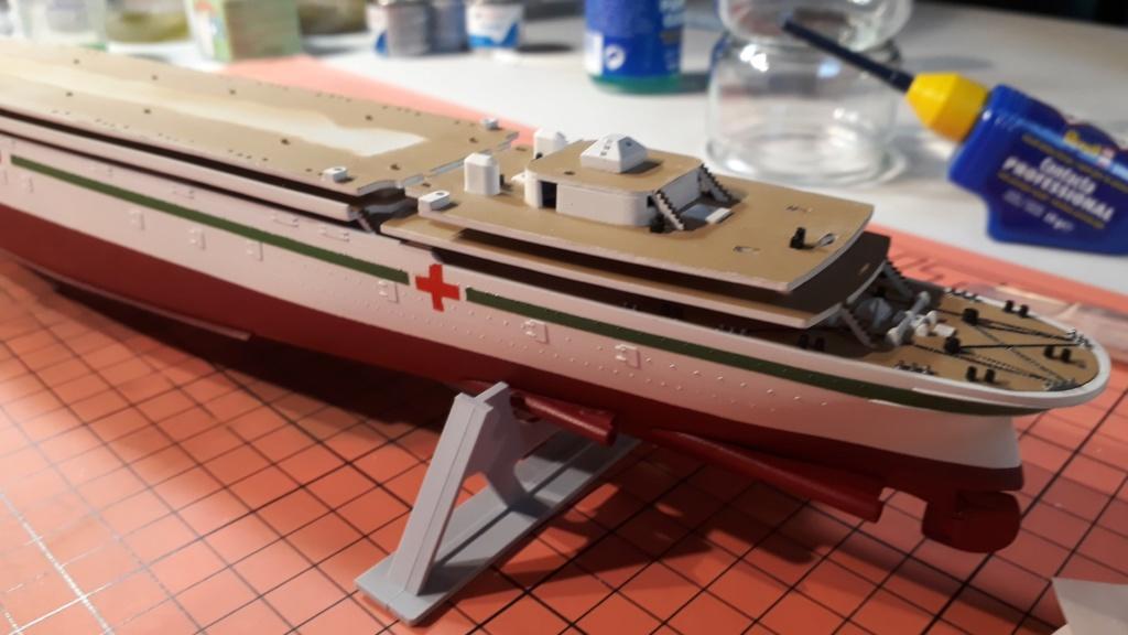 RMS Mauretania 1/600 Airfix 20191212