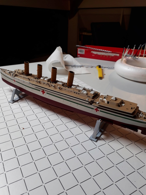 RMS Mauretania 1/600 Airfix - Page 2 20191219