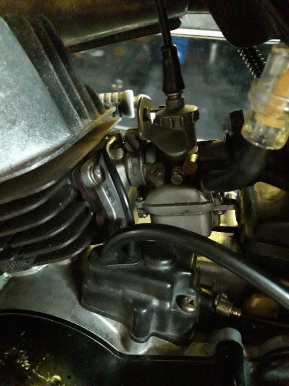 remplissage huile moteur 20190110