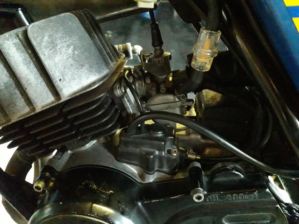 remplissage huile moteur 20190111