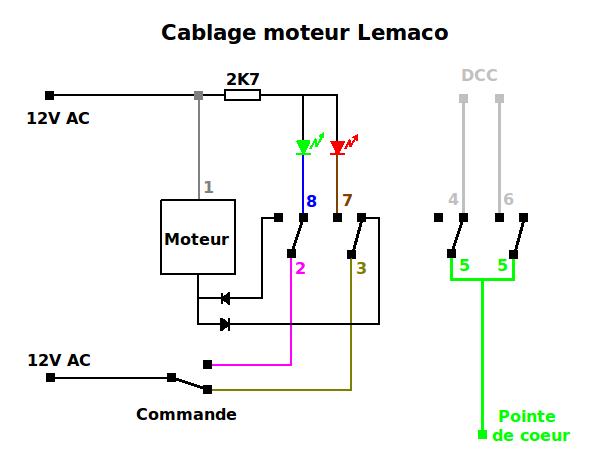 Aiguillage Z avec relais 8945 Cablag10