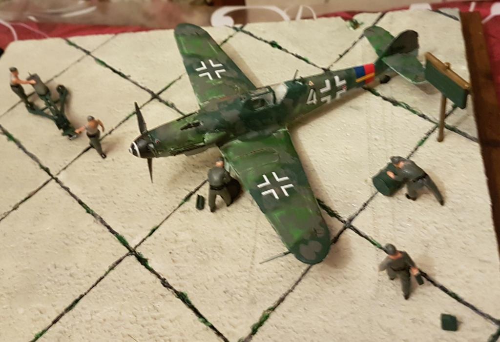 Heller - Messerchmitt Bf-109 - 1/72 : le Scratcheur se lance - Page 2 20171213