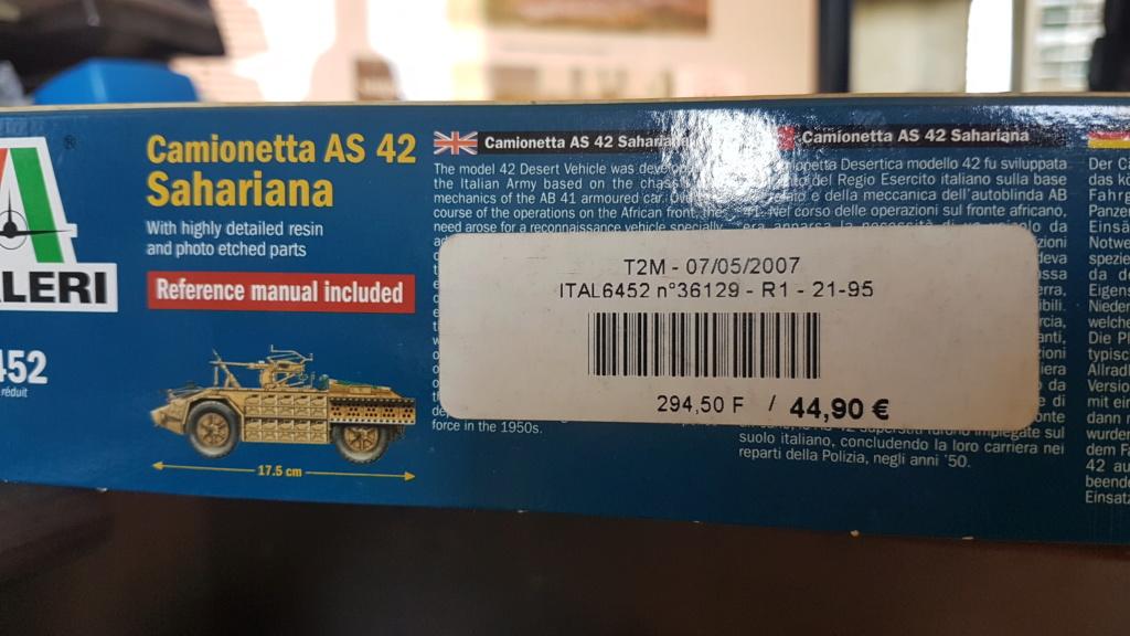 AS 42 Sahariana italeri 1/35 (terminée) 20200448