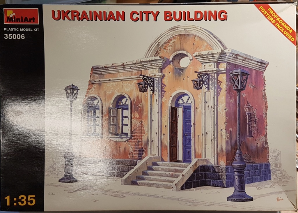 Maison ukrainienne 1/35 Miniart 20200593