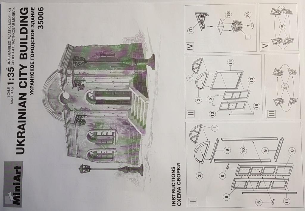 Maison ukrainienne 1/35 Miniart 20200596