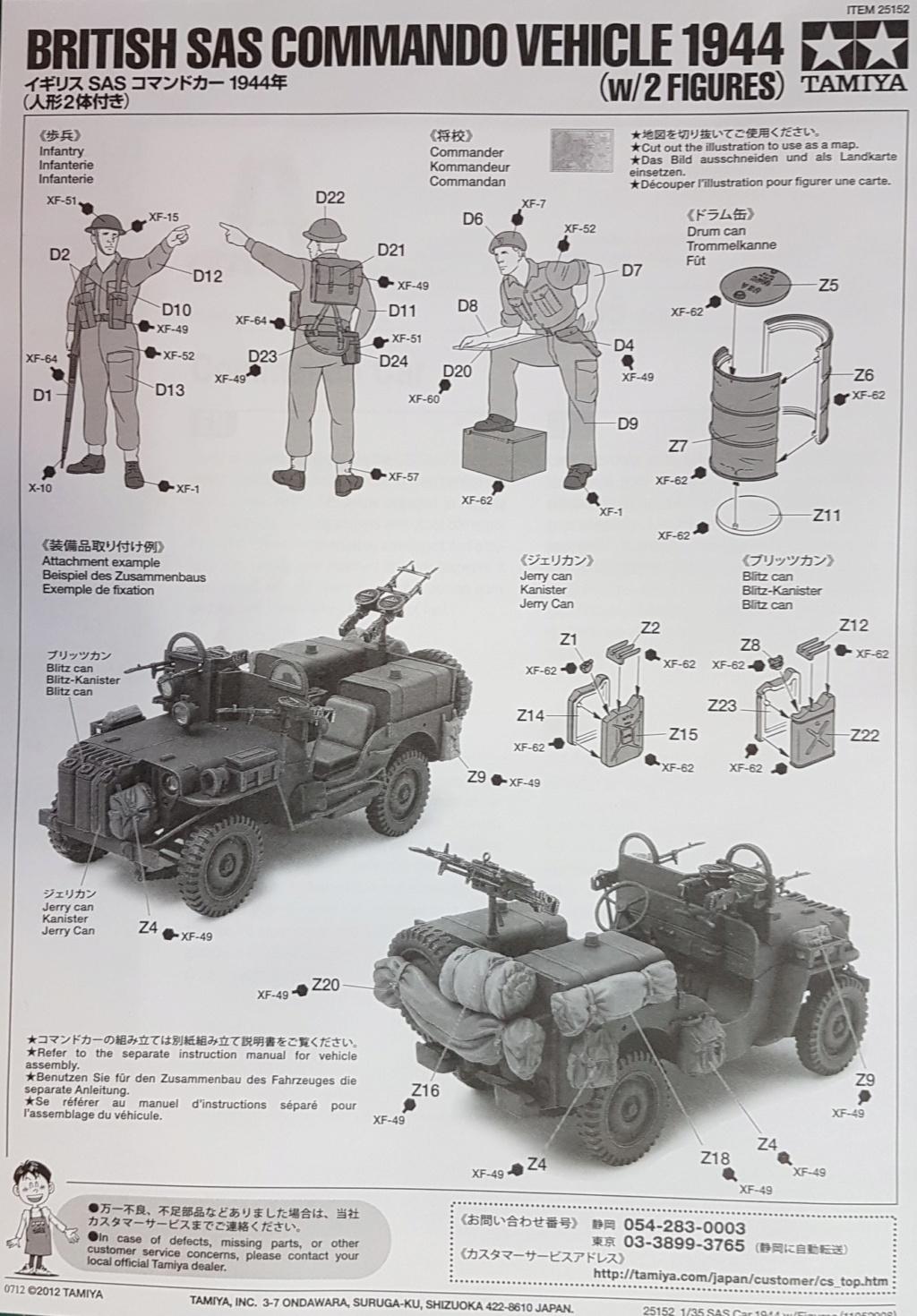 Jeep commando SAS 1944 (tamiya 1/35) 20200643