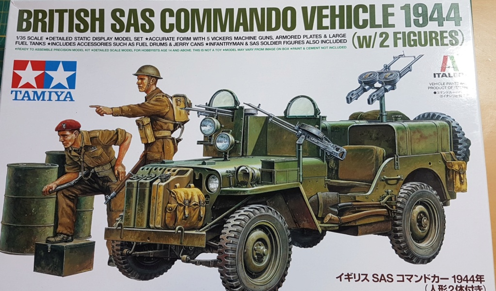 Jeep commando SAS 1944 (tamiya 1/35) 20200645