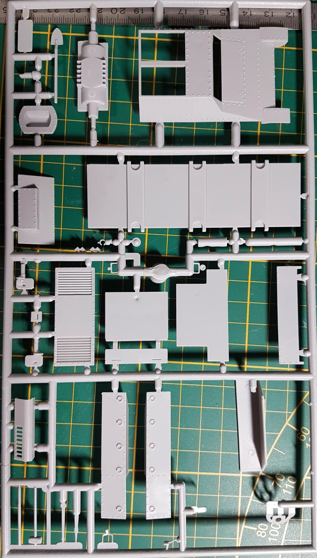 From the box - SD.KFz.135 Ambulans 'RPM au 1/35' monté en lorraine 38L *** Terminé en pg 3 20201217