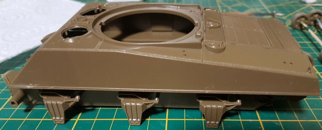"""Fil rouge 2021 * Sherman """"calliope"""" Revell 1/35 (terminé en page 11) - Page 2 20210126"""