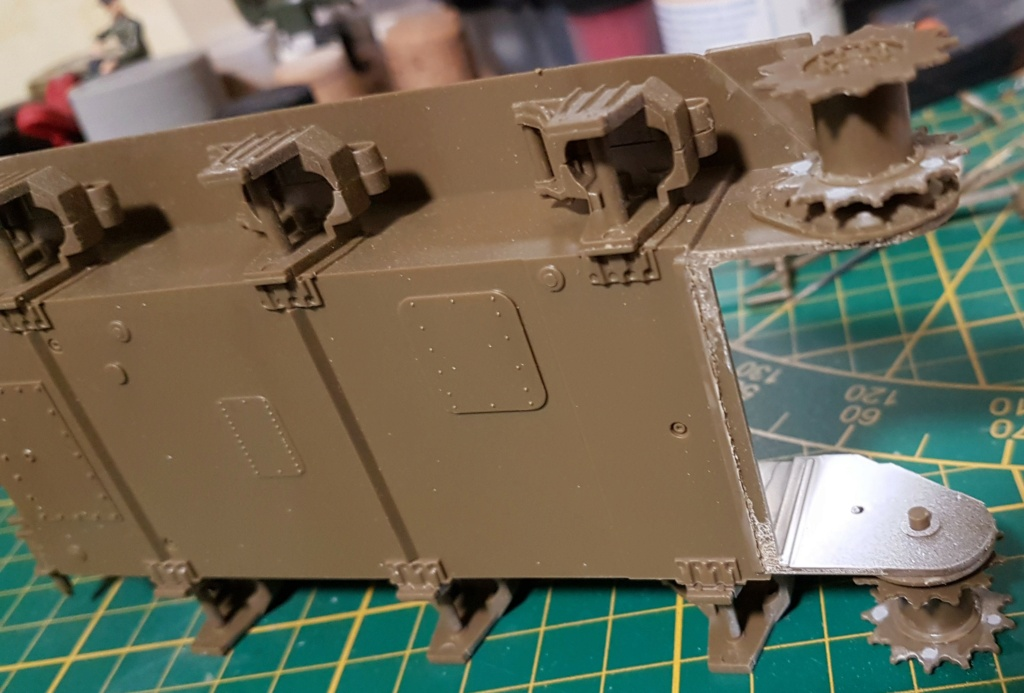 """Fil rouge 2021 * Sherman """"calliope"""" Revell 1/35 (terminé en page 11) - Page 2 20210130"""