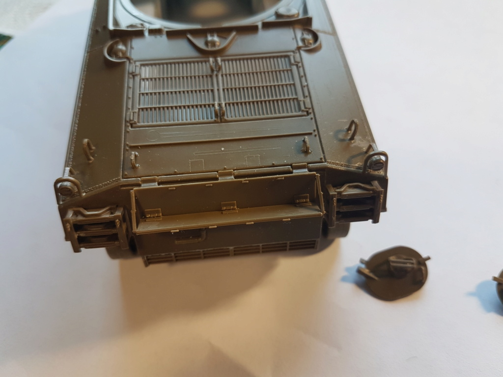 """Fil rouge 2021 * Sherman """"calliope"""" Revell 1/35 (terminé en page 11) - Page 2 20210137"""